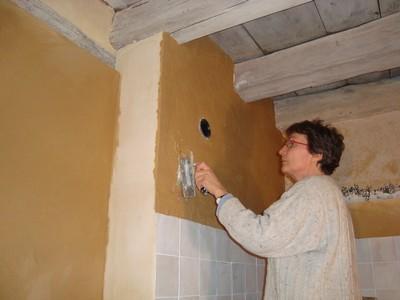 salle de bain - février 2011 - marie et pascal chez marcou - Enduit Mur Salle De Bain